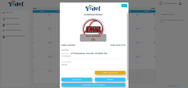 We design and develop custom web application for Yodel